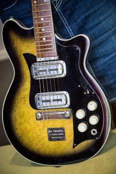 Tommy Emmanuel's first guitar. Photo by Tatiana C C Scott